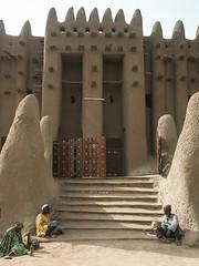 22439371029_b08b664cb7_o (magnificent toad) Tags: mosque mali djenne