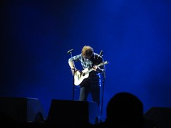 we are surrounded by all of these lights (brooklyn legresley) Tags: concert edmonton guitar stage x multiple guitarist multiply perfomer rexallplace edsheeran
