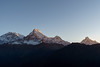 Sunrise at Poon Hill 3200m (Poxxel) Tags: nepal sunrise sonnenaufgang annapurna poonhill annapurnahimal