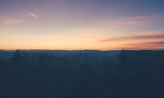 Snowshoe Sunset [Explored] (anthonyharle.com) Tags: sunset sky panorama cloud sun mountain mountains west set clouds landscape snowshoe 50mm virginia nikon stitch cloudy pano wv westvirginia nikkor f18 stitched afs 50mmf18 vsco d7000 nikond7000 afsnikkor50mmf18g vscofilm vsco03 vsco06