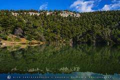 Reflections 2 (nikhrist) Tags: trees lake nick greece parnitha attiki christodoulou