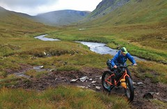 Escaping the bogs in Gleann Beag