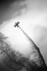 Pitts Special - Lauren Richardson (doodlewhale) Tags: white black lauren plane airplane aviation special airshow biplane richardson pitts seething