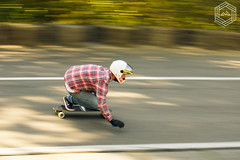 Full Speed (mathieufournel) Tags: longboarding downhill asphalt action sports wheels