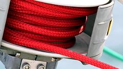 Red (patrick_milan) Tags: bateau ship boat voilier pche sailing fishing iroise ocean port harbour quay quai rope cordage aussire accastillage