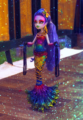 Sirene Von Boo (Lady Barbarella) Tags: monster high freaky fusion sirena von boo custom repaint restyled version ooak