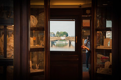 Tuscany (flyingvendetta) Tags: vecchio florence firenze tuscany bridge ponte window italy jewlery