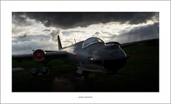 Canberra (Descended from Ding the Devil) Tags: aeropark canberra eastmidlands leicestershire sonya7mkii sonyalphadslr aircraft bomber clouds drama fullframe mirrorless photoborder planes sky