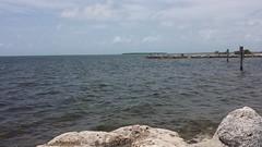 20160727_122035 (rolyrol1982) Tags: florida keys key largo sea atlantic rock rocks channel markers