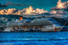 Costa Diadema in La Spezia (Davide Fregosi) Tags: crociera costa crocere diadema la spezia porto