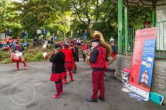 Marsden Jazz Festival 2016_0032 (Mark Schofield @ JB Schofield) Tags: marsden jazz festival 2016 huddersfield yorkshire musicians street people musical instrument dance ulverston band blast furnace