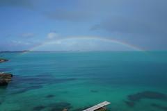 Rainbow off Spanish Point (Bill Boaden) Tags: bermuda rainbow dockyard spanishpoint pembrokeparish