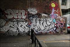 DFN / Isno / Anoe (Alex Ellison) Tags: dfn anoe isno eastlondon urban graffiti graff boobs shoreditch