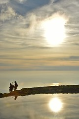 Tramonto sul Baldo (norella.giorgia) Tags: passeggiata mountain montebaldo verona italy sun sunset sole tramonto nuvole lago lagodigarda coppia fidanzati italia nikon d5500 riflesso reflex reflected