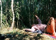 -2014-07-fed-arhstoyanie-000022-s Rodion on the ground (tataata) Tags: 2014 july russia nikolalenivets summer trees film analog fed3 35mm color people portrait boys