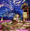 Never Stop To dream - Mini Toddler Animator Raiponce Reroot Hair (The Fairytale land Of Ariel Triton) Tags: doll customdoll disney disneyprincess disneydoll ooak ooakdoll reroothair reroot rerooted limited limitededition disneystore custom waltdisney hairstyle hairdresser dollhairdresser nylonhair nylon raiponce tangled toddler animator mini xxl classicdoll classic frozen elsa anna hair goldensun ariel disneyland snowwhite belle fairytalelandofarieltriton glitter dress purple repaint repainted pascal dollart customized faceup art commission