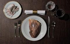 Starvation (mark spag) Tags: lamb creepy halloween raw meat carnivore disturbing heart mice dead fancy dinner chaos appocalypse order disorder