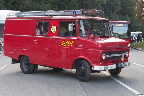 6aa- Opel Blitz Feuerwehr - Rossfeld 2016