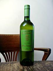Falernia Pedro Ximenez (knightbefore_99) Tags: bottle drink table wood white blanc blanco chile wine vin vino pedro ximenez valle elqui tasty delicious