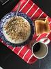 Frukost 17/10 (Atomeyes) Tags: mat kokos yoghurt müsli frukt kaffe toast