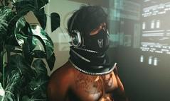 Legacy (lndya and Leeaker) Tags: scarf headphones  mask bauhausmovement