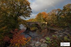 Autumn Colour (Lancashire Photography.com) Tags: river hodder ribble valley cromwells bridge autumn colours colors fall lancashire