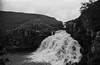 Pennine way day seven - Dufton to Middleton-in- Teesdale (ronet) Tags: 35mm pentax pentaxmz5n bw blackandwhite diydeveloped film homedeveloped ilford ilfordfp4 ilfotecddx pennineway scanned teesdale waterfall cauldronsnout