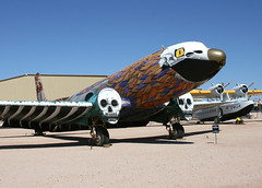 C-117D Bu 17177 Phoenix of Metal by Munca (Retro Jets) Tags: c117 dc3 pima artwork usn munca