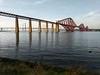 Rail Bridge at Sunset (Filmstalker) Tags: forthrailbridge sunset forth mobile pixel