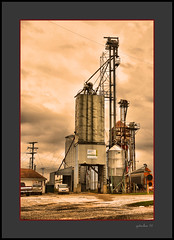 Clarksville Seed (the Gallopping Geezer '4' million + views....) Tags: building structure smalltown backroads clarksville mi michigan canon 5d3 sigma 24105 geezer 2016 elevator seed feedandseed grain feed farm country