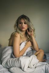 Sweat (Kristen Palatella) Tags: girl model pretty beauty beautiful potrait potraits still woman pale matte washed blonde pink contrast nj newjersey canon canon60d 60d
