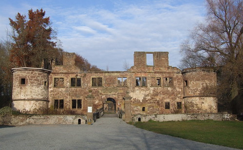 Ruins of Wasserschloss, 20.11.2011.