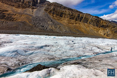 Columbia Icefield (felix.hohlwegler) Tags: columbiaicefield alberta rockies rockymountains glacier gletscher schnee eis morraine morne berge mountains snow ice blue water bluewater aroundtheworld travel traveling outdoor hiking adventure brewster athabasca athabascaglacier jasper jaspernationalpark nationalpark clouds sky canon canoneos canoneos7d