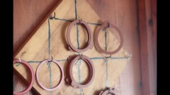 Ring Toss Game - Easy to Make (davewirth.blogspot.com) Tags: ring toss game easy make httpdavewirthblogspotcom201610ringtossgameeasytomakehtml a really fun simple antique play when power is out or up cottage night plus it looks cool hanging from wall its for all ages little kids old people the goal get most points by trying jar lids hook highest httpyoutubeo6keaaz8eqs