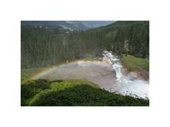 View. Austria (2006) (csinnbeck) Tags: eos 350d canon rainbow austria 1740mm 1740l 1740 summer mountains forest river waterfall europe holiday summerholiday østrig nature 2006 july