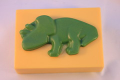 Stegosaurus Soap $4.00 (Clelian Heights) Tags: cleliancenterproducts cleliancenter cleliansoaps decorativesoaps unscented