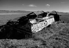 Riddled (JasonCameron) Tags: utah desert middle no where mans land highway 6 november monochrome black white bw dry west solitude emptiness