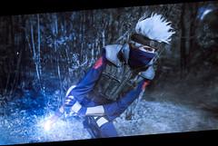 Hatake Kakashi (Zilephiroth) Tags: cosplay hatake kakashi narutoshippuuden naruto shippuuden dog chidori