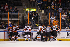 "Missouri Mavericks vs. Fort Wayne Komets, November 11, 2016.  Photo: John Howe/ Howe Creative Photography • <a style=""font-size:0.8em;"" href=""http://www.flickr.com/photos/134016632@N02/30894060931/"" target=""_blank"">View on Flickr</a>"