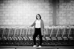 "(Isai Alvarado) Tags: melanie model woman glasses lips smile portrait stock sunlight light softlight street urban cute sun hair redhead boots jeans lovely sexy hot bokeh dof focus blur cine cinema cinematic film movie 50mm ""50mm f14 g"" nikon d800 isai alvarado ""isai fotografia"""