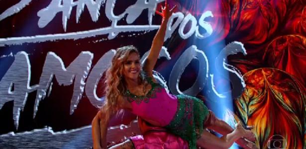 """Em dia de salsa, Leona Cavalli é eliminada da """"Dança dos Famosos"""""""