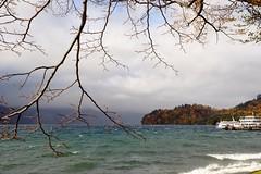 (linwujin) Tags: asia japan lake tree boat ship green water fujifilm xt1 xf1655