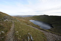 Good path (dark_dave25) Tags: martindale bungalow helvellyn striding edge lake district tarn walking hiking holiday 2016 october