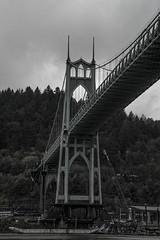 St. Johns (retsoced) Tags: portland oregon pacificnw stjohns overcast fall bridges willametteriver