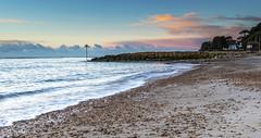 Avon Beach (nicklucas2) Tags: seascape beach groyne pebble sea sand cloud