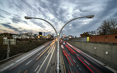Calm Compositions (Patrick.Younger.Photography) Tags: explore adventure gardiner expressway traffic cars bridge above ground sky scapes ra real ability patrick younger