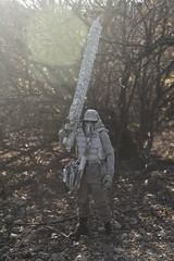 Bush Sniper (wadetaylor) Tags: threea custom threeacustom ashleywood toy toyphotography onesixth sniper gasmask military figure