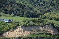 Britomart Monument seen from Akaroa Harbour, Banks Peninsula, New Zealand (contemplari1940) Tags: britomart akaroa harbour banks peninsula obelisk captowenstanley hmsbritomart treatyofwaitangi maori captailanglois frenchwhaler frenchcolony