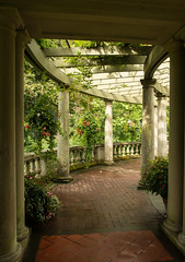 Gardens at Hatley Park Castle (WoodlandsPhotography) Tags: garden arbor path walkway pillars pergola archway brick park stone wooden arch beautiful vine peaceful tranquil yard wood entrance lattice landscape landscaped gardening landscaping outdoor arbour decorated outdoors detail spring pathway wall arched column relaxing relaxation serene tranquility sidewalk botany architecture pillar outside sunny sunshine shade shadows hatleycastle victoriabc canada canadian vancouverisland romance romantic marilynwilson