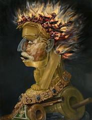Fire (lluisribesmateu1969) Tags: 16thcentury onview arcimboldo kunsthistorischesmuseumwien vienna